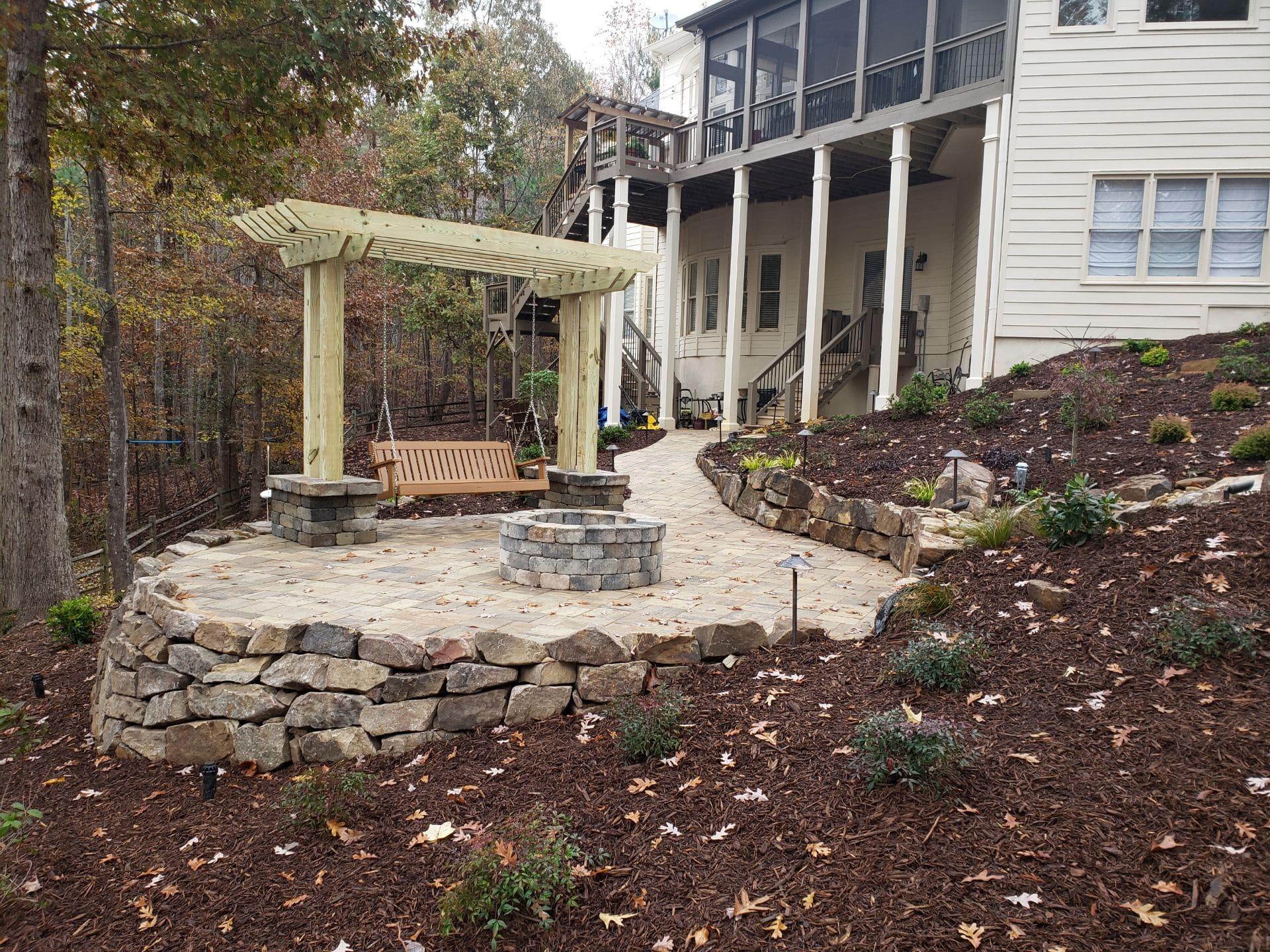 landscape designer reliant landscaping