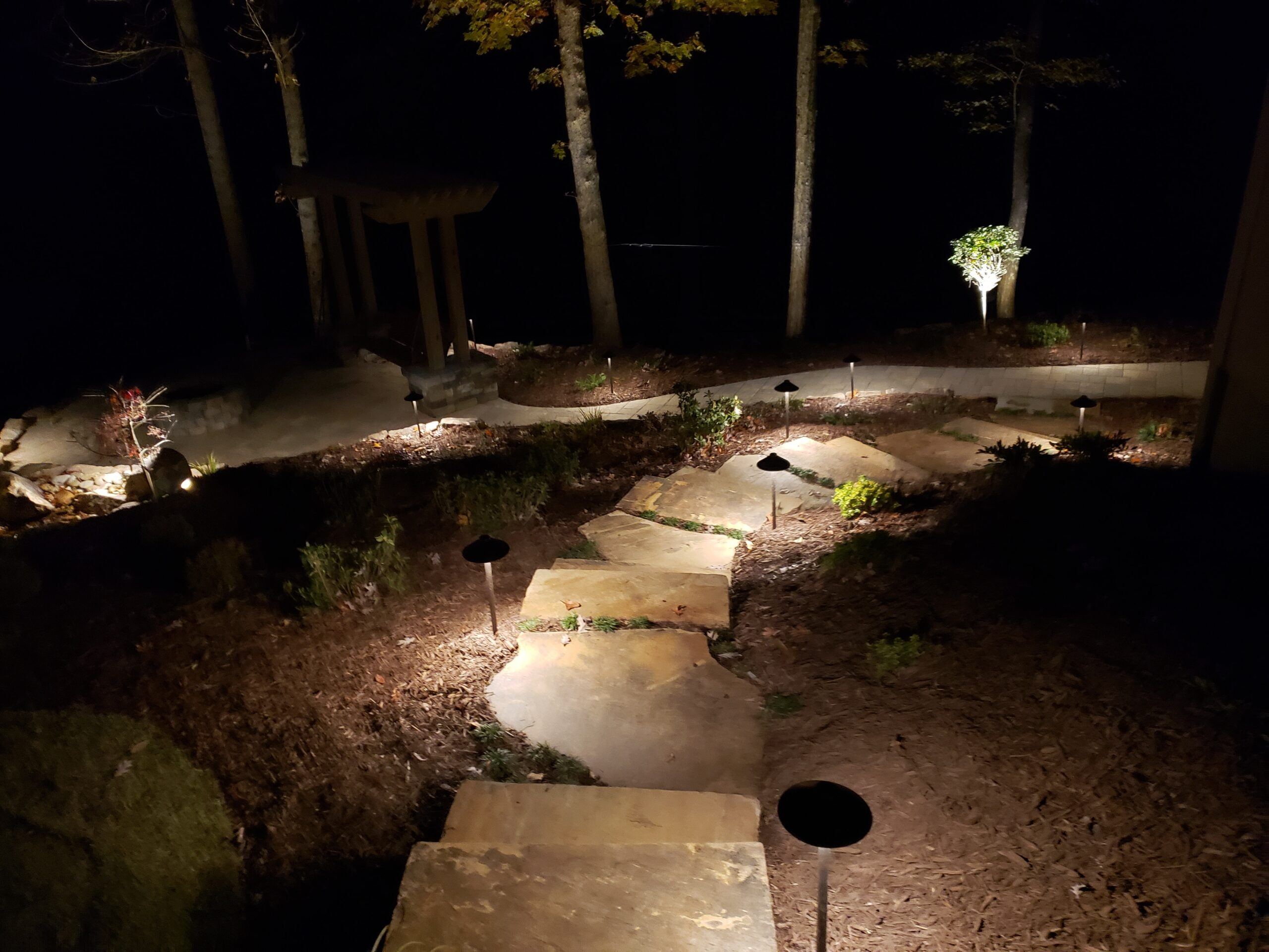 landscape lighting gainesville ga