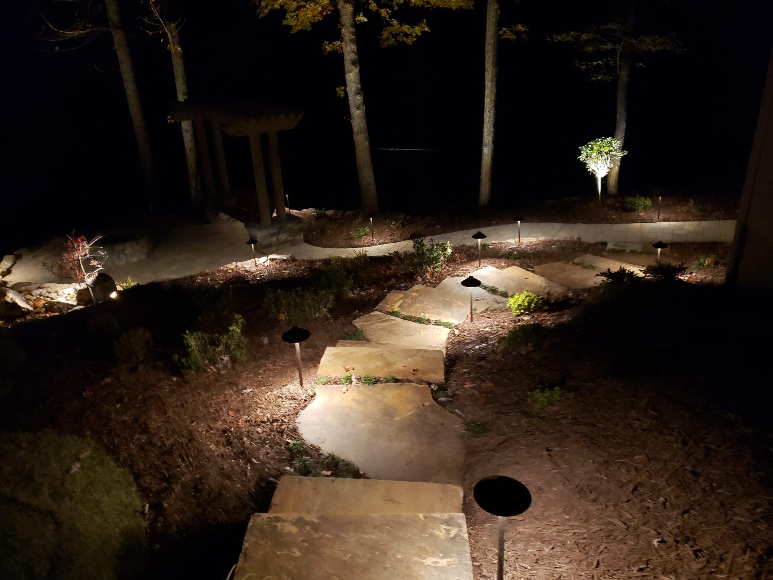 landscape lighting gainesville ga