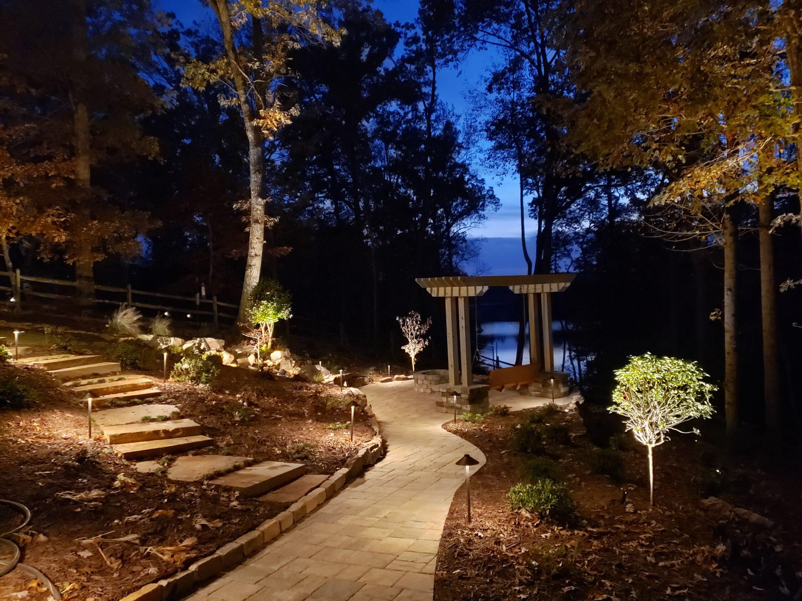 Landscape Lighting in Gainesville, GA
